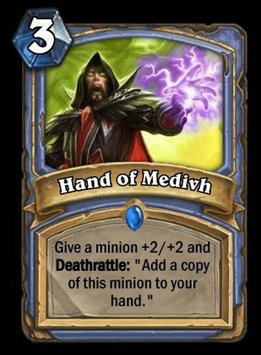 Hand Of Medivh Wiki Hearthstone Amino