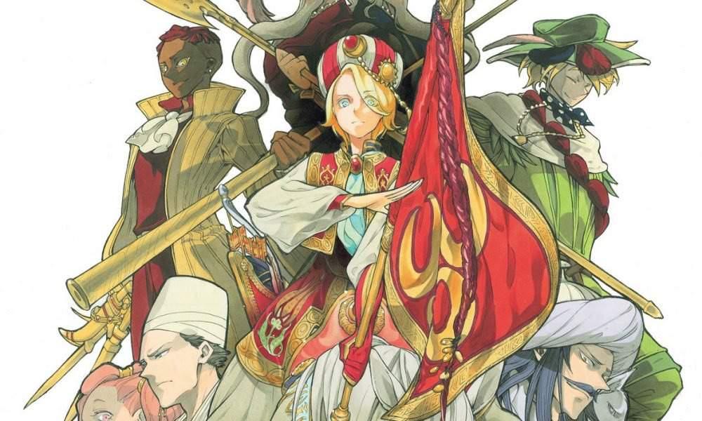 Shoukoku no Altair | Anime Amino