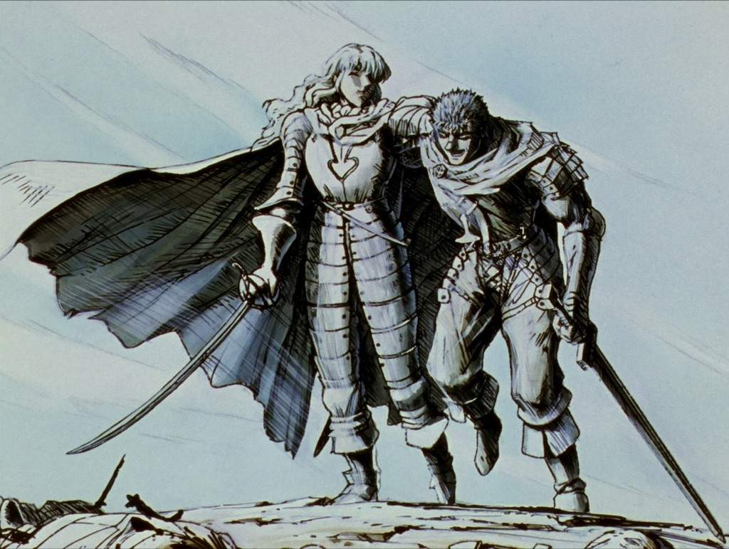 griffith and guts relationship