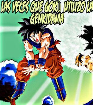 Las Veces Que Goku Utilizo La Genkidama Dragon Ball Espanol Amino