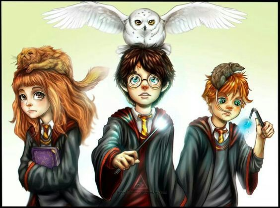 Fanart Golden Trio | Harry Potter Amino Harry Potter Trio Fan Art