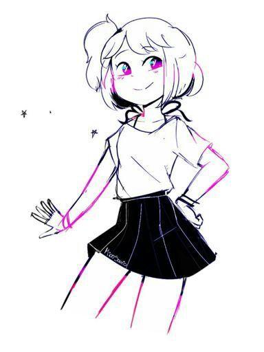 Dibujo de Chica! | FOXICA - FNAFHS Amino