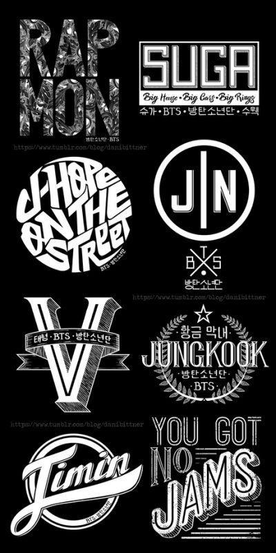 BTS Logo | ARMY's Amin...T Ara Names