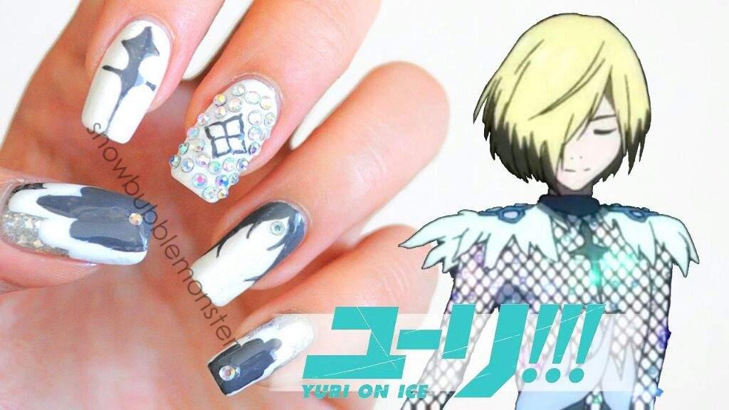 Si piensas hacerte la manicure pero no sabes que estilo escoger, checa estas uñas decoradas al estilo de YOI!!