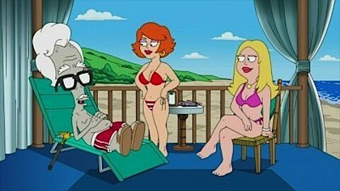 Quite american dad francine and gina
