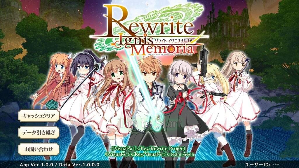 ReWrite IgnisMemoria 😊😊 (Android &
