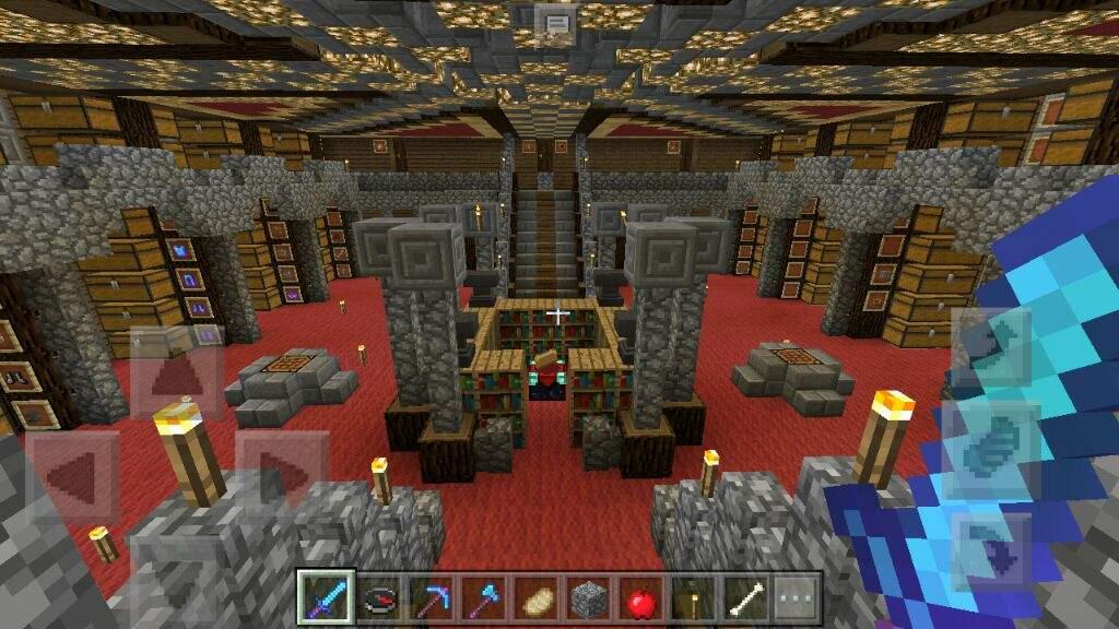 Survival Underground Base Minecraft Amino