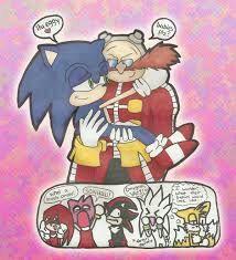 Sonic X Dr Eggman Shipping Art Sonic The Hedgehog Amino