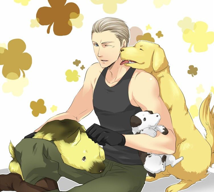 List of Synonyms and Antonyms of the Word: hetalia germany's dogs