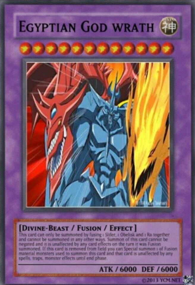 Egyptian God Cards YuGiOh