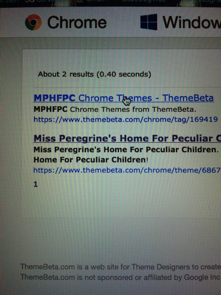 Google themes themebeta - Edit Click On The First Search Result