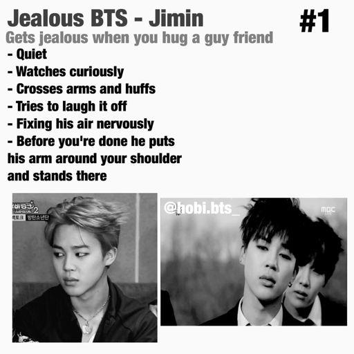 Jealous BTS imagine #1 | ARMY's Amino