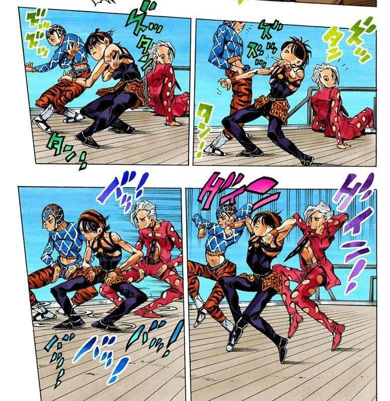 Bruno puts jojo through every hardcore humiliation possible 5