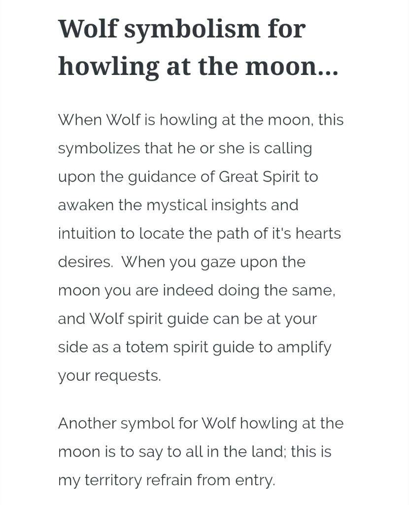 The Wolf Moon Meaning