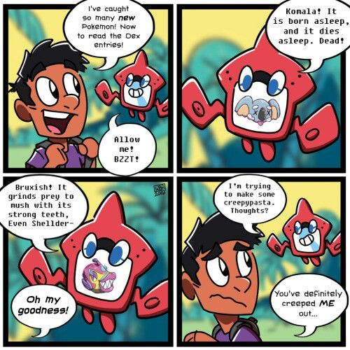 how to catch rotom dex pokemon moon