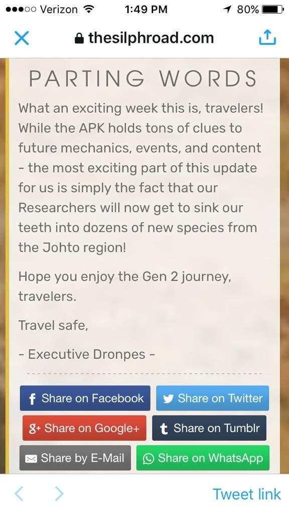 News Update | Team Instinct Amino