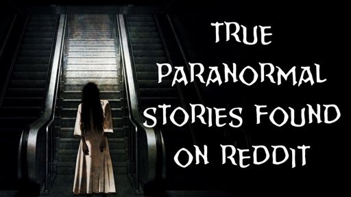 True Paranormal Stories From Reddit | Horror Amino