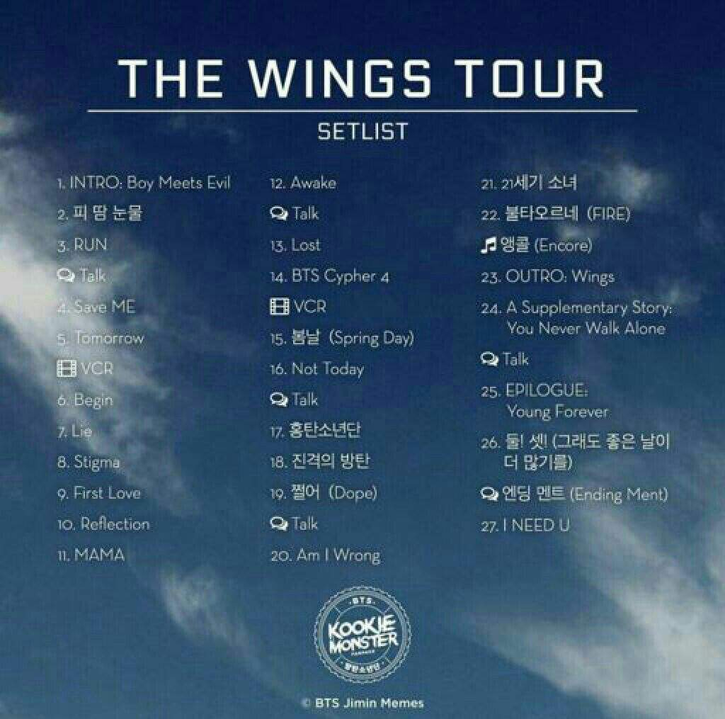 New Dates For The Wings Tour