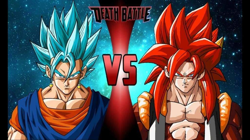 Goku Ssj4 Vs Goku Ssjd Quién Gana En Una Pelea Mi: Gogetta Ssj4 Vs Veggeto Ssj Blue, Quien Ganaria