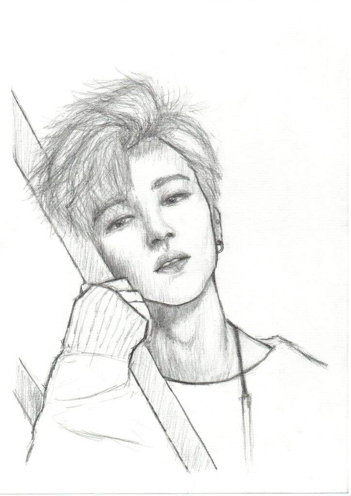 BTS Jimin Drawing | K-Pop Amino