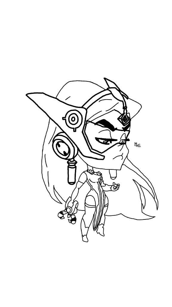 Overwatch coloring pages print and colorcom sketch for Overwatch coloring pages
