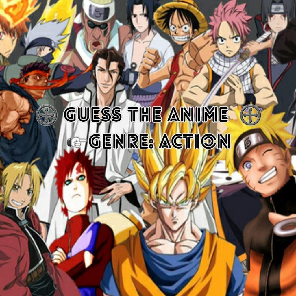 Action anime quiz