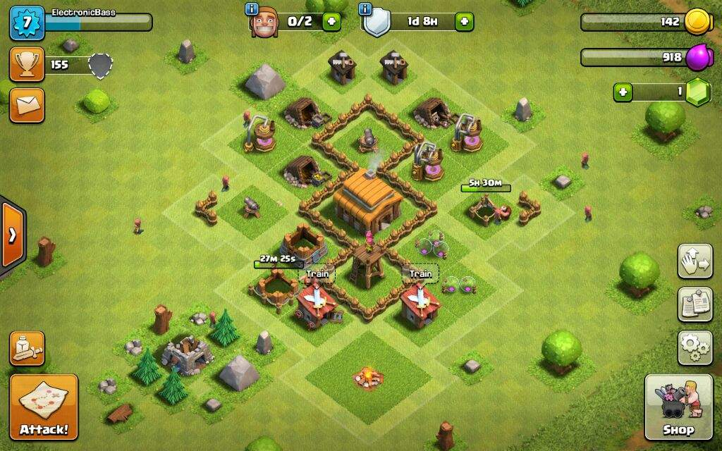 Add me on clash of clans. I might restore my old acc. (Lost)