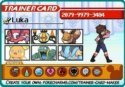 Pokemon trainer card maker maple towers