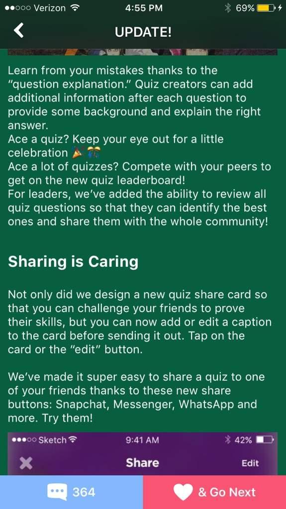 Food Quiz | Quiz! Amino