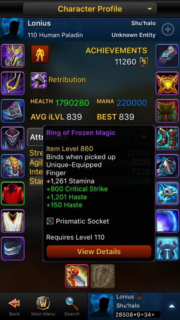 Another Gear Update | WoW Amino