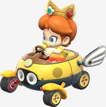 Mario kart 8 baby daisy
