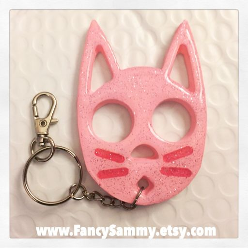 New Self Defense Cat Keychains Crafty Amino
