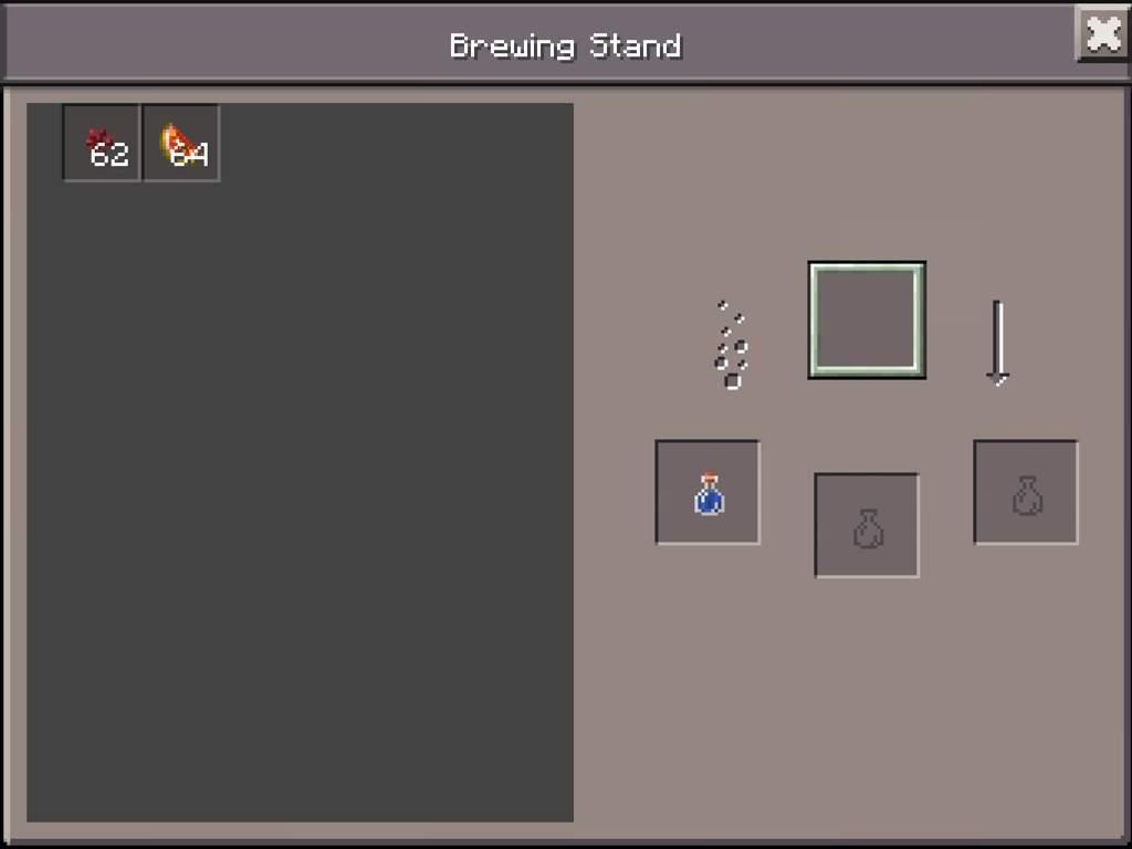 How to make le amazing potion of healing (potion setup