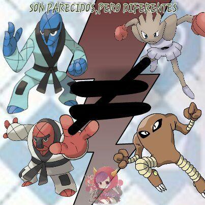 Defendiendo a Sawk y Throh | •Pokémon• En Español Amino