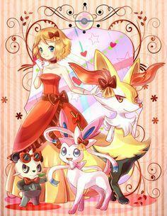 Serena Fennekin 3 - Pokemon - Series X & Y, Season 17