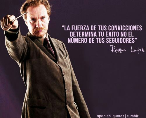 Frases Remus Lupin Harry Potter Español Amino