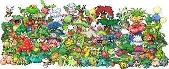 Grass Type Pokemon Pokémon Amino
