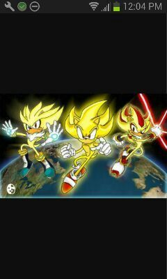 Super Shadow Super Sonic And Super Silver