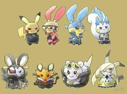 Pikachu Clones Pokémon Amino