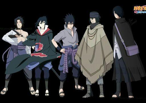 this is how sasuke uchiha and sakura haruno evolution began and end