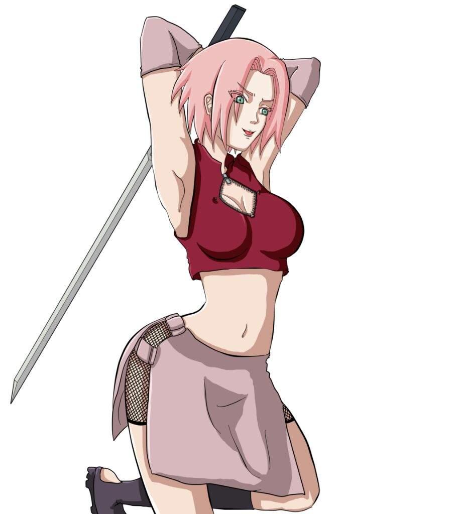 Sakura   •Anime• Amino