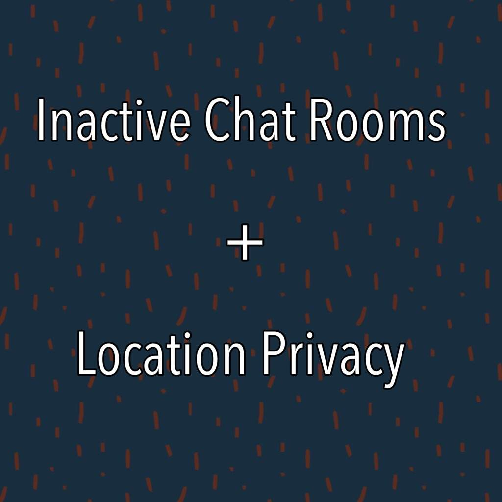 Inactive Chat Rooms Privacy Issue K Drama Amino
