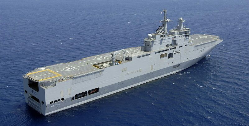 three ships of the class are in service in the french navy mistral tonnerre and dixmude a deal for two ships for the russian navy was announced by then