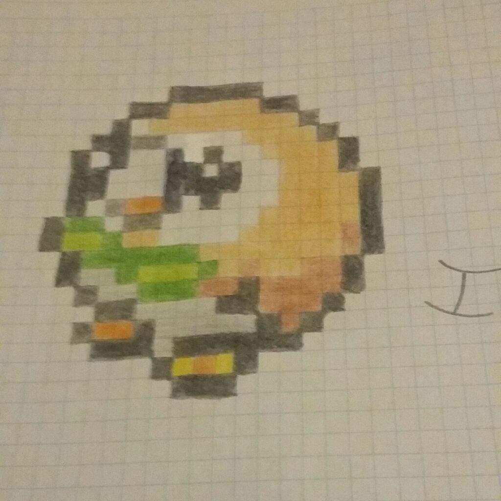 Pixel Art De Pokemon Cuadriculado