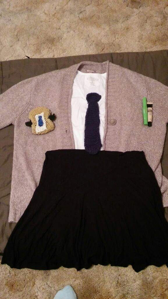 Castiel inspired outfit supernatural amino i just finished crocheting the tie and i made the phone case tomorrow i will be looking like castiel yayyyy ccuart Gallery