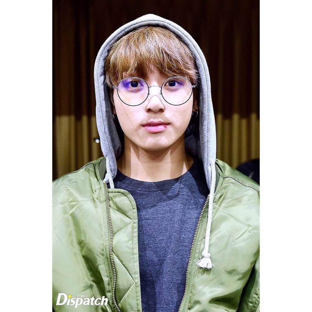 Bts Jungkook Glasses Wallpaper: Jungkook In Glasses