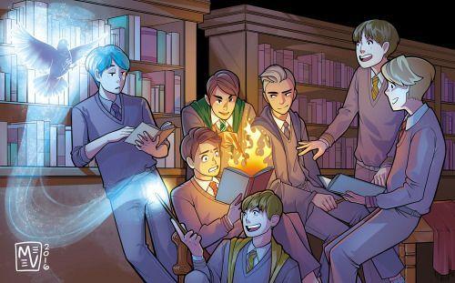 Magic (A BTS/Harry Potter AU) | ARMY's Amino