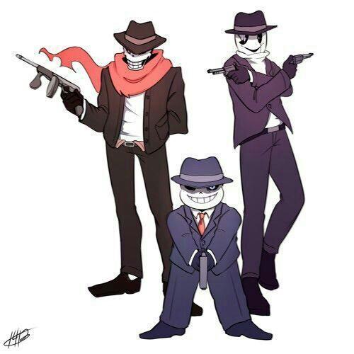 Mafia Gaster Sans Papyrus Undertale Amino