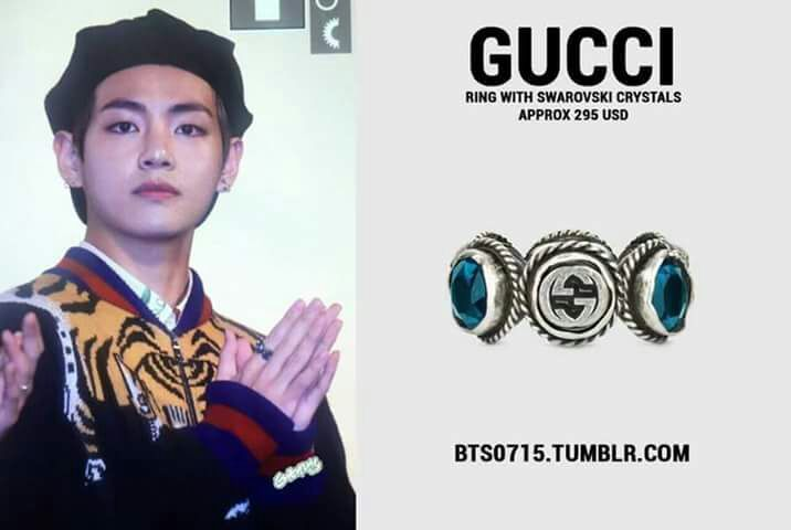 TAEHYUNG x GUCCI:THE PERFECT CONCEPT