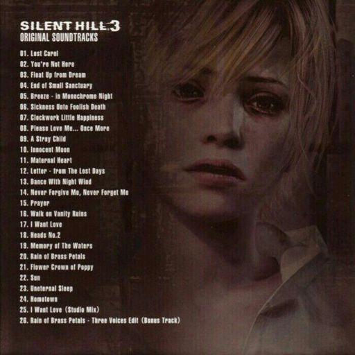 silent hill 3 ost mp3